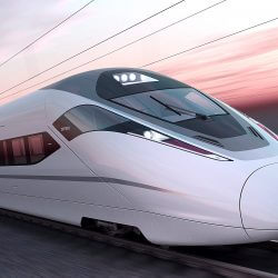 Aluminium High-Speed trains